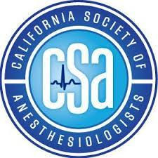 Thank you California Society of Anesthesiologists!
