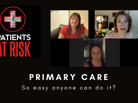 Primary Care: So Easy Anyone Can Do It?