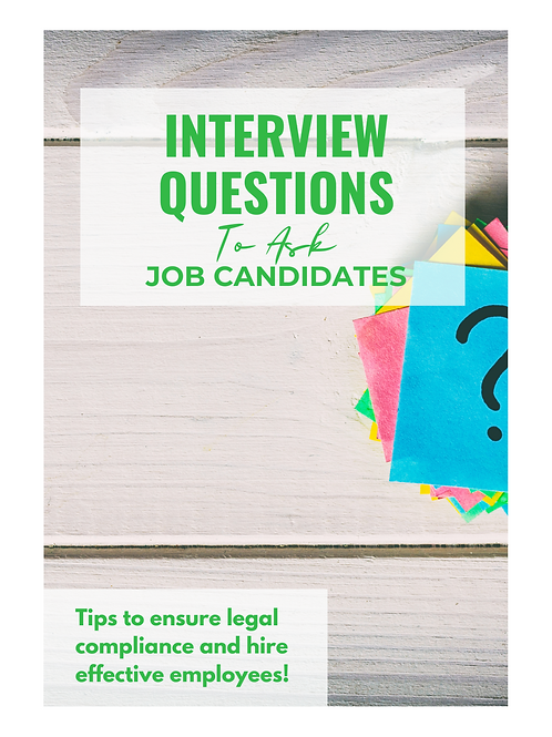 Interview Questions to Ask Job Candidates