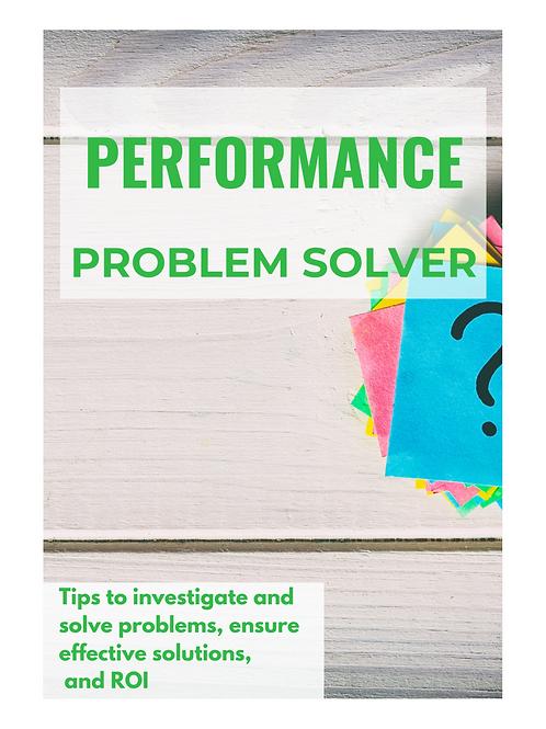 Performance Problem Solver