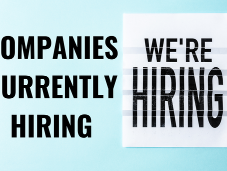 Companies Currently Hiring in the US