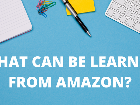 What can be learned from Amazon?