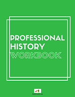 PROFESSIONAL HISTORY WORKBOOK COVER PAGE