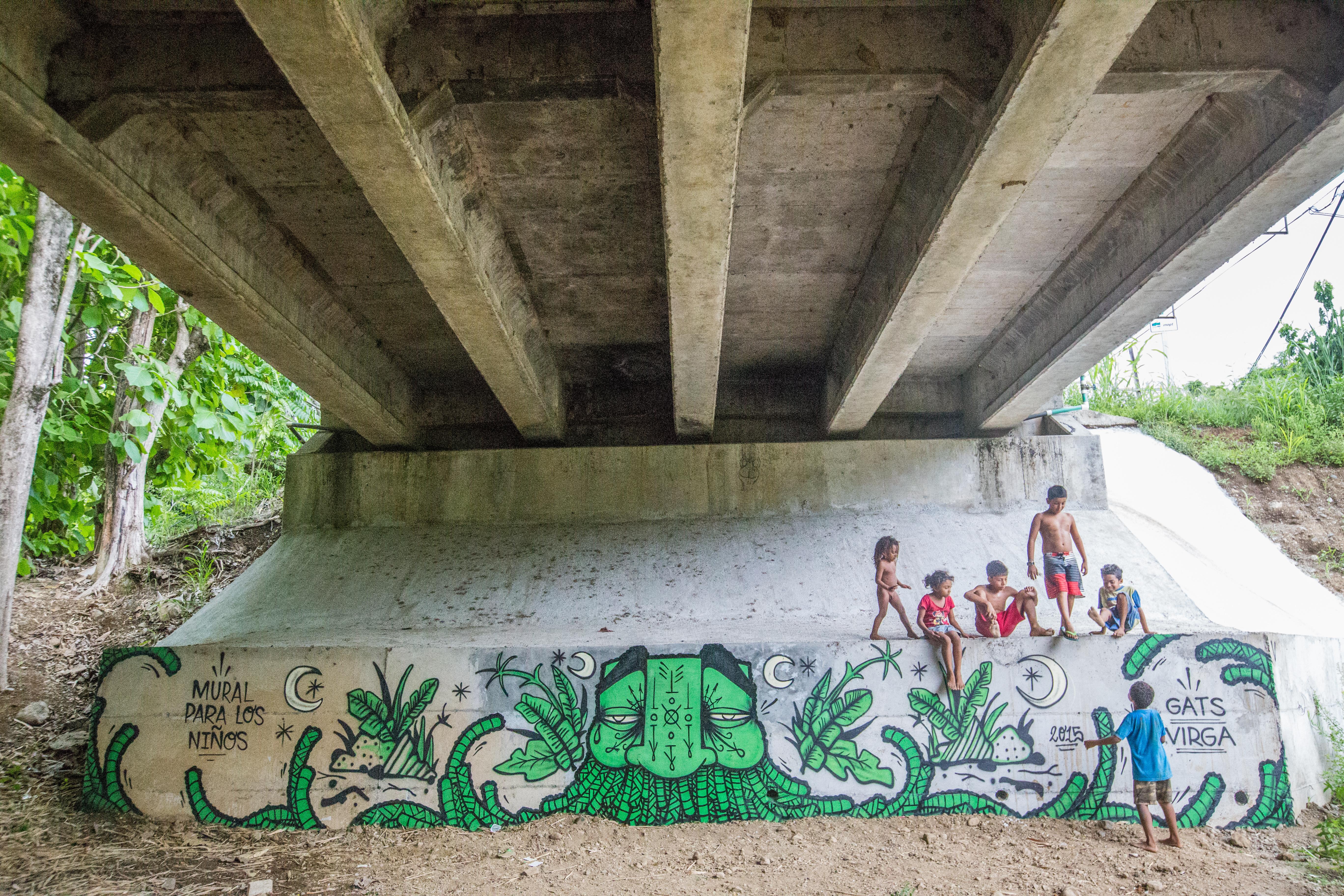 "GAT & Virga - ""Mural Para Los Ninos"""