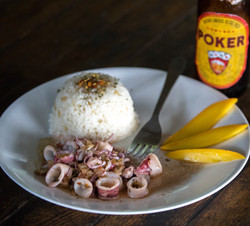 Coastal Colombian Lunch