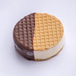 Chocolate Dipped Waffle