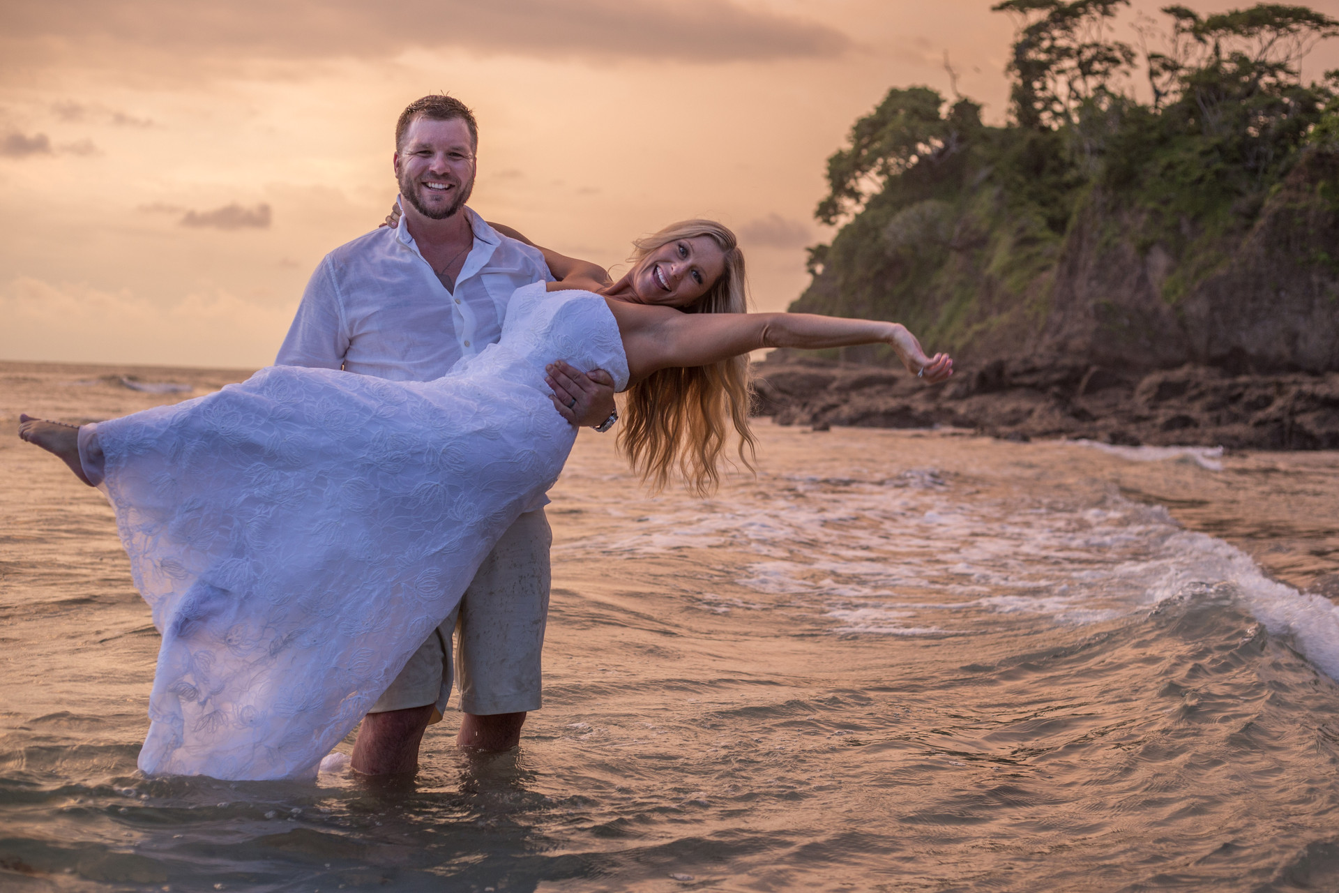 Married in the tide
