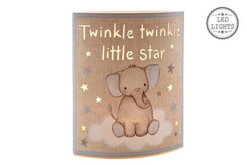 Twinkle Twinkle Little Start LED light - Blue