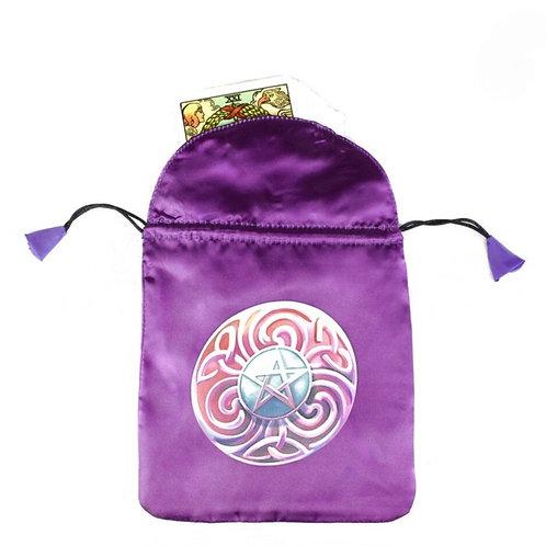 Purple Star Card Bag