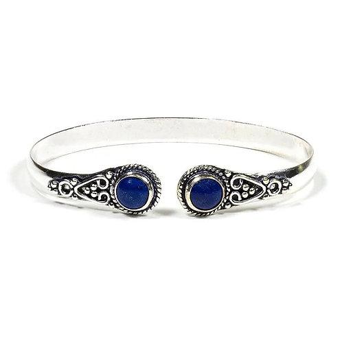 Lapis Lazuli Bangle Bracelet
