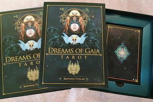 Dreams of Gia Tarot by Ravynne Phelan