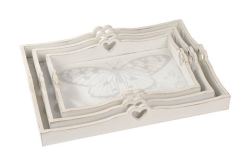 Butterfly Trays - set of 3