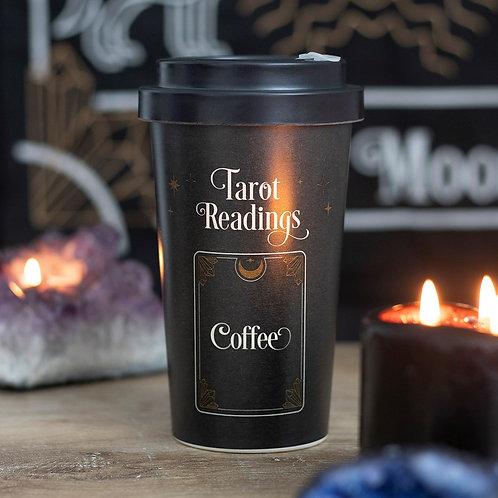 Tarot Readings Bamboo Eco Travel Mug