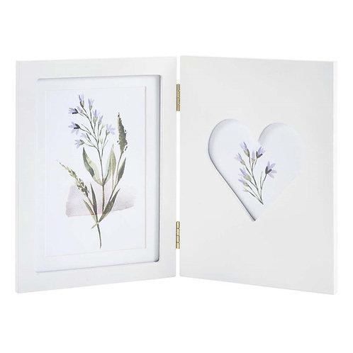White Folding Photo Frame