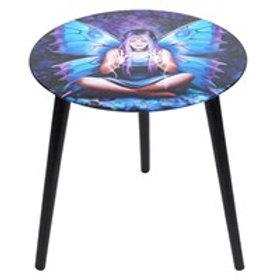 Spell Weaver Glass Table - Anne Stokes