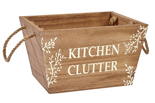 Kitchen Clutter Crate