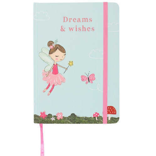 Fairy Dreams & Wishes Notebook A5