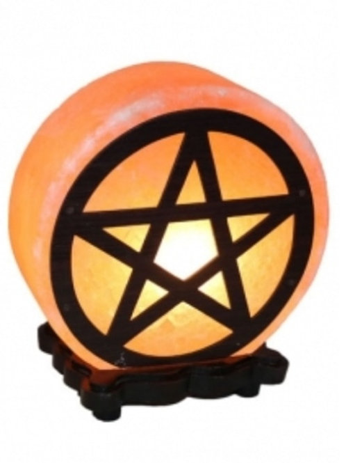 Salt Lamp - Pentagram