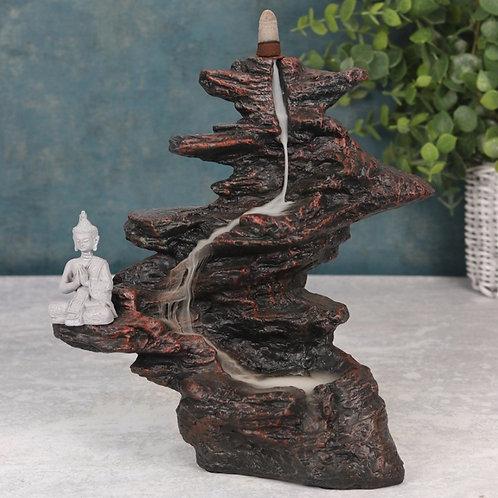 Buddha on the Rocks Backflow Incense Burner