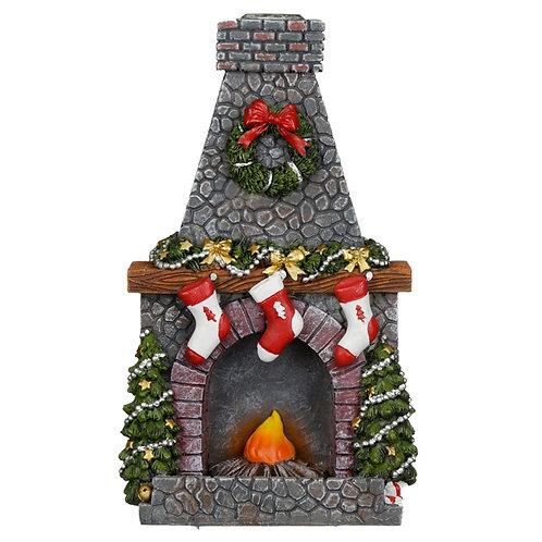 Christmas Fireplace Backflow Burner
