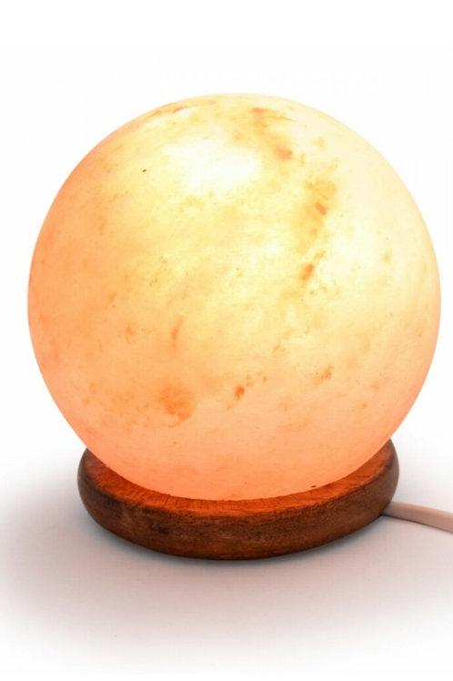 Himalayan Salt Lamp - Sphere Shaped (Smooth)