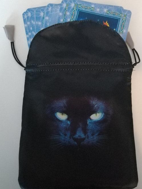 Black Cat Card Bag
