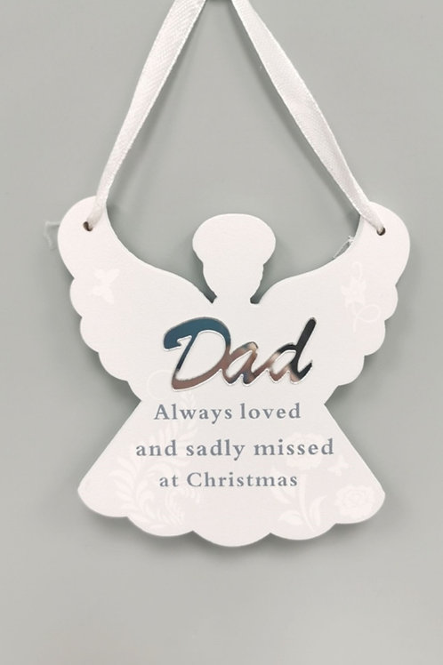 Hanging Angel Memorial Decoration - options