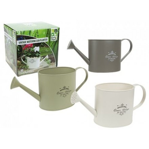Vintage style Watering Can Planter