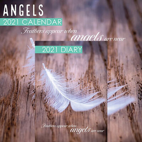 Angels 2021 Calendar and Diary Set