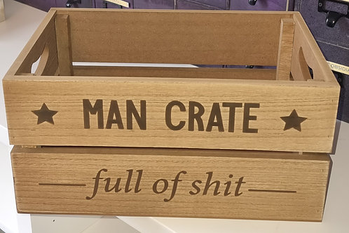 Man Crate (Full of Shit)