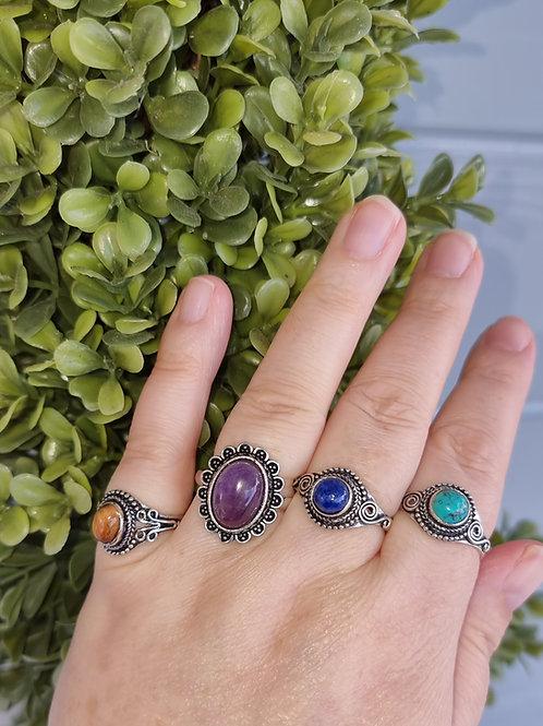 Crystal Dress Rings (adjustable)