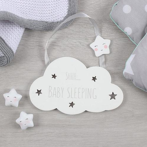 Shh... Baby Sleeping Hanging Sign