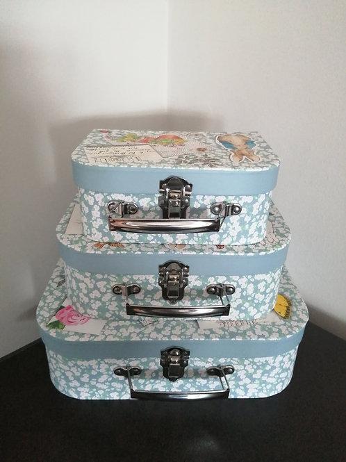 Peter Rabbit Storage Cases - set of 3