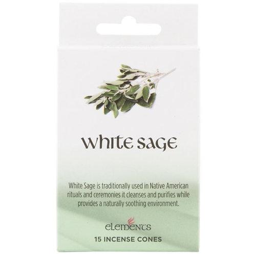 California White Sage Cones