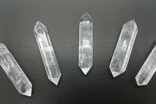 Clear Quartz Double Terminated Points