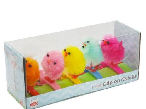 Clip on Chicks - 5pk