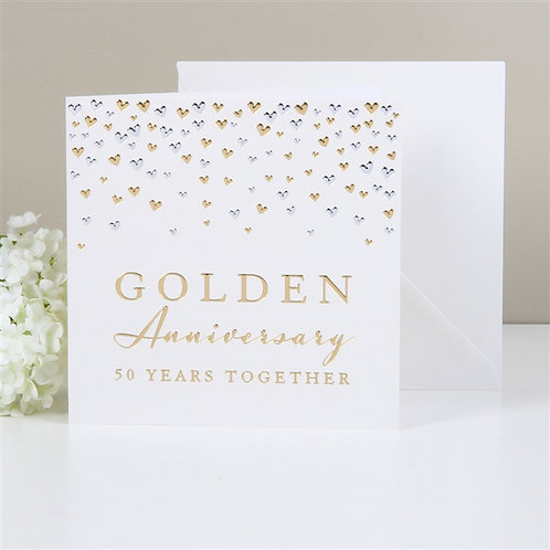 Golden Anniversary Greeting Card