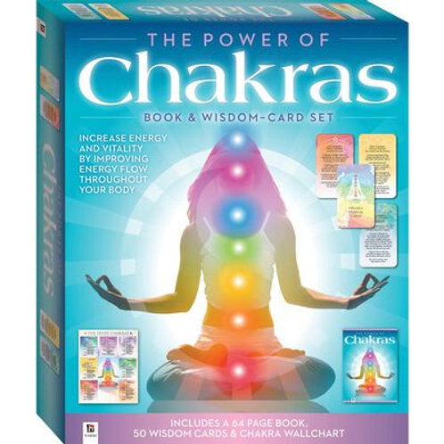 The Power of Chakras: Book & Wisdom-Card Set
