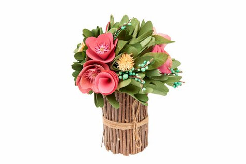 Floral Bouquet - wooden