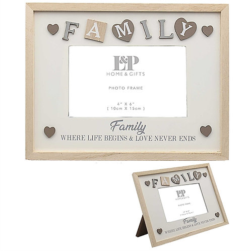 Photo Frame - Family
