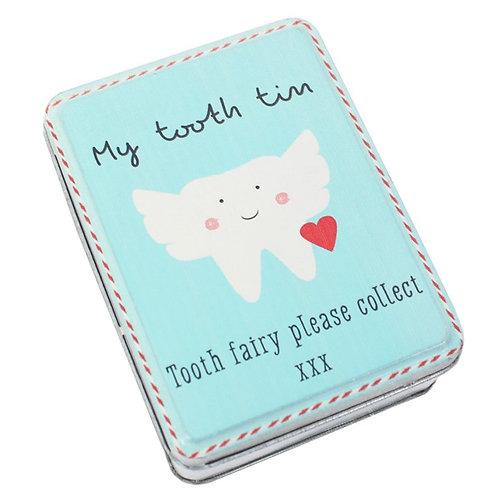 Tooth Fairy Tin (small)