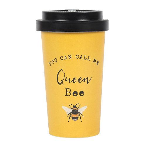 Queen Bee Bamboo Eco Travel Mug