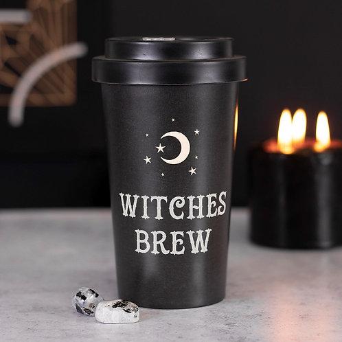 Witches Bew Eco Bamboo Travel Mug