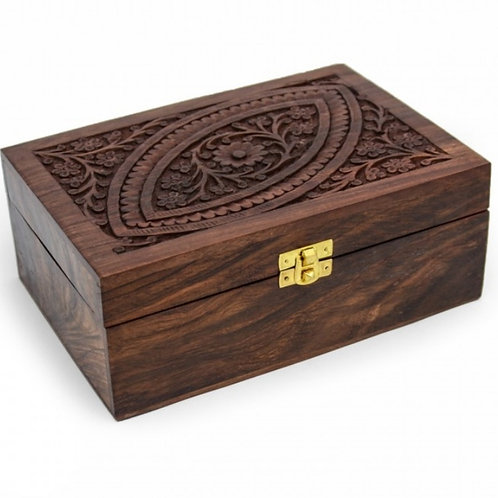 Essential Oils wooden box (For 24 bottles)