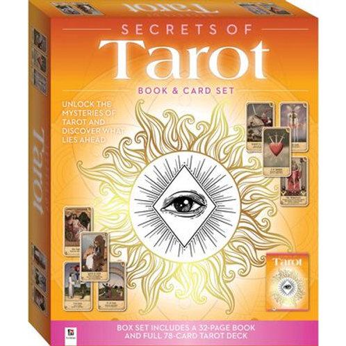 Secrets of the Tarot Book & Card Set