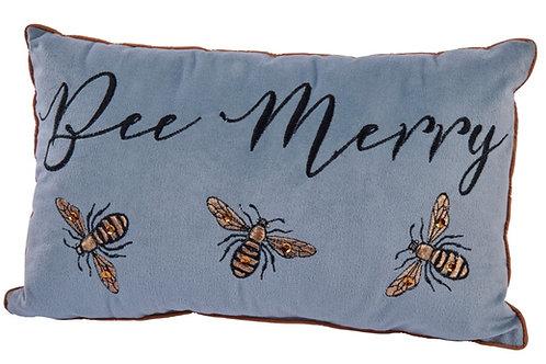 Bee Merry Cushion