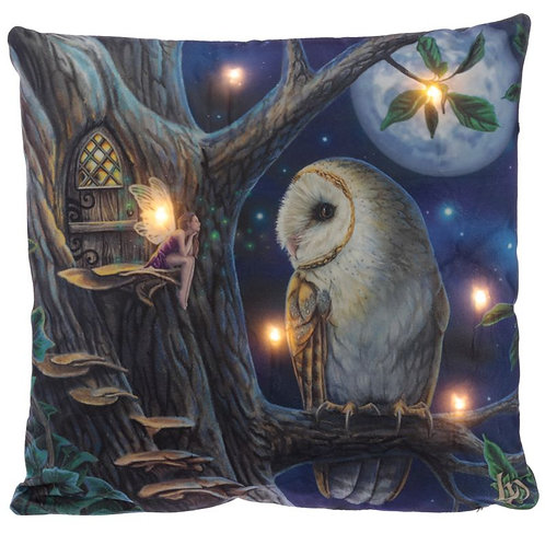 Fairy Tales - LED Cushion by Lisa Parker