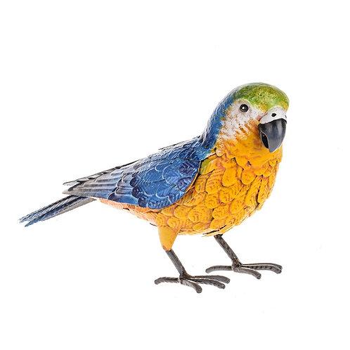Metal Parrot Ornament 32cm