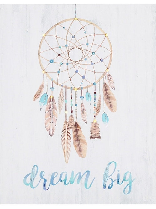 Dreamcatcher light up Canvas  COLLECTION ONLY