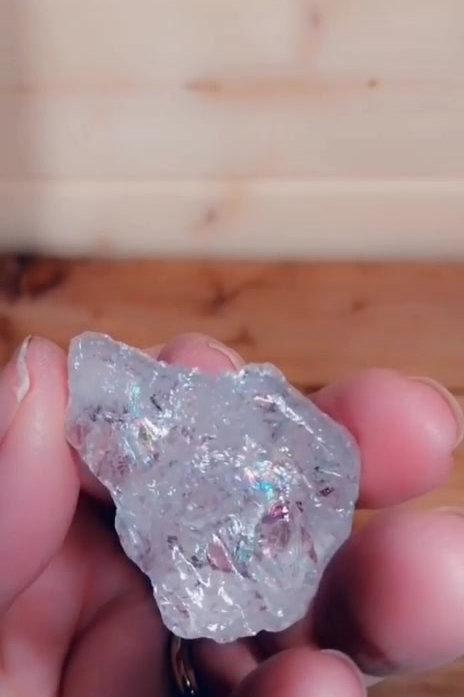 Lemurian Ice Crystal